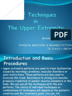 PNF Techniques  in  The Upper Extremity.pptx