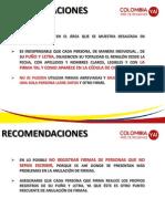 Instructivo Recoleccion de Firmas Colombia, País de Regiones