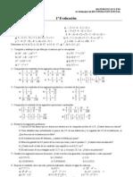 Recuperacion 3º Matematicas