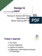 [MIT] Product Design