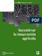 Banco Mundial. 2006. Inventivar La Innovacion Agricola - CURSO TT