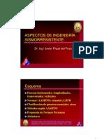 Dr Pique Del Pozo - Aspectos de Ingenieria Sismorresistente