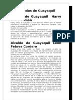 Periodos de Guayaquil