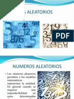NUMEROS ALEATORIOS