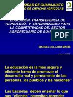 Collado. 2007. Educacion Transferencia de Tecnologia y Extensionismo-CURSO