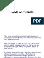 Loads on Tunnels