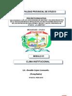 47081856 Clima Institucional y Autoestima