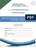 Prueba de Avance 9Grado Ciencias Naturales (1)