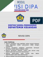 Modul Revisi DIPA