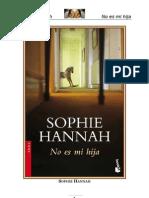 Hannah Sophie - No Es Mi Hija