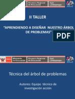 Técnica del árbol de problemas