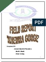 Khewra Gorge