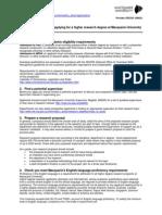 MNU TANILTSUULGA pdf   Academic Degree   Postgraduate Education