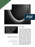 Managing Innovation-Bang and Olufsen