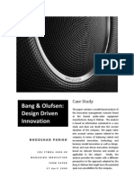 Managing Innovation-Bang and Olufsen
