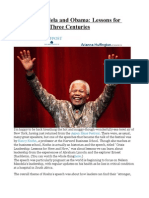 Lincoln, Mandela and Obama Lessons for Leaders Over Three Centuries
