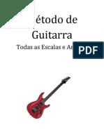 Metodo de Guitarra, Todas as Escalas e Arpegios Pt