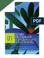 A Escrava Que Nao E Isaura Mario de Andrade