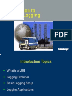 1- Intro to Wireline Logging