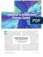 Industrial Crystallization Processes
