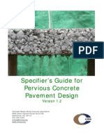 Pervious Concrete Guide 2009-08-18