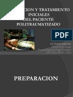 Power Evaluacion y Tratamiento Politraumatizado - Triage
