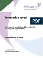 NfpSynergy Innovation Rules! Report September 2004