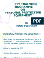 Personal protective equipments for industries