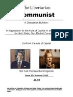 The Libertarian Communist No.23 Summer 2013