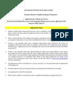 Yr 1-4-2012-13 BEd(EL) Add-Drop Form