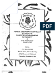 Private Use Permit Between The Forestry Development Authority and the People of Bade Clan, Gbarpolu County, October 6, 2011