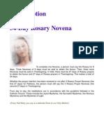 54-Day Rosary Novena