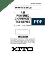 TCS Owner's Manual (Rev. 0612-PC-02)