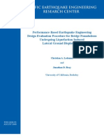 Procedure for Bridge Foundations PILE PEER805