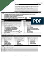 report checklist scoring guide
