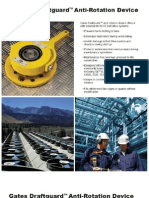 Gates Draftguard Anti-Rotation Device