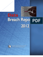 California Attorney General's 2012 Data Breach Report.