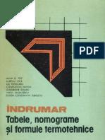 Tabele, Nomograme Si Formule Termotehnice - Indrumar Vol 3