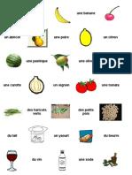 Aliments Choix