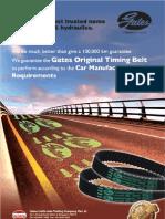 Gates Original Timing Belt AD