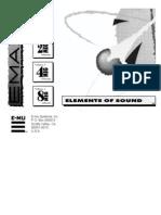 EmaxII Elements Sound List