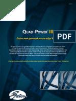 Gates Quad Power III Belts