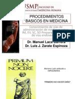 Inyectables y Venoclisis - Dr. Zarate.ppt
