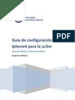 Iphone4 Guia de Configuracion Para La Uc3m