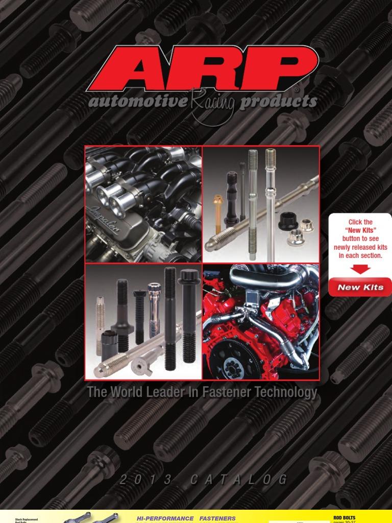 "ARP 254-1002 Cam Bolt Pro Series 3//8/""-16 1.970/"" UHL Ford 351C 351M 400 Ea"