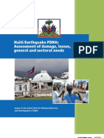 PDNA Haiti-2010 Working Document En