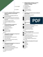 Medicina Intrebari 2013