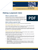 FS3 - Making a Payment Claim