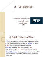 VIM VI Improved
