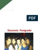 sesion DOCENCIA    POSTGRADO